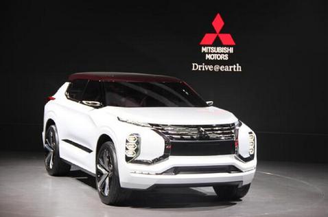 三菱SUV概念车 新一代电动技术及四轮控制技术高清图片