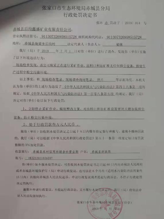 违法《中华人民共和国大气污染防