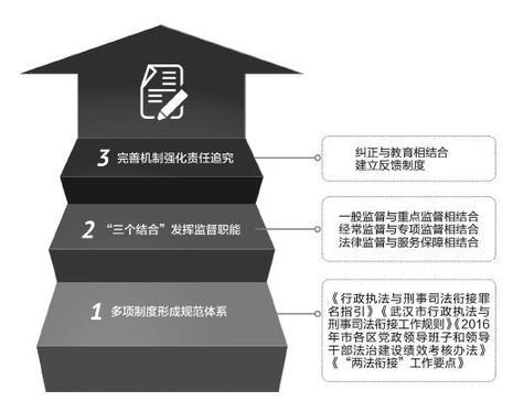 """""""两法衔接""""写入当地法治建设十三五规划 武汉:多措并举推动""""两法衔接""""规范化制度化"""