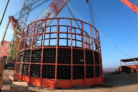 中天海缆交付国内首根无中间接头湿式结构集束海缆
