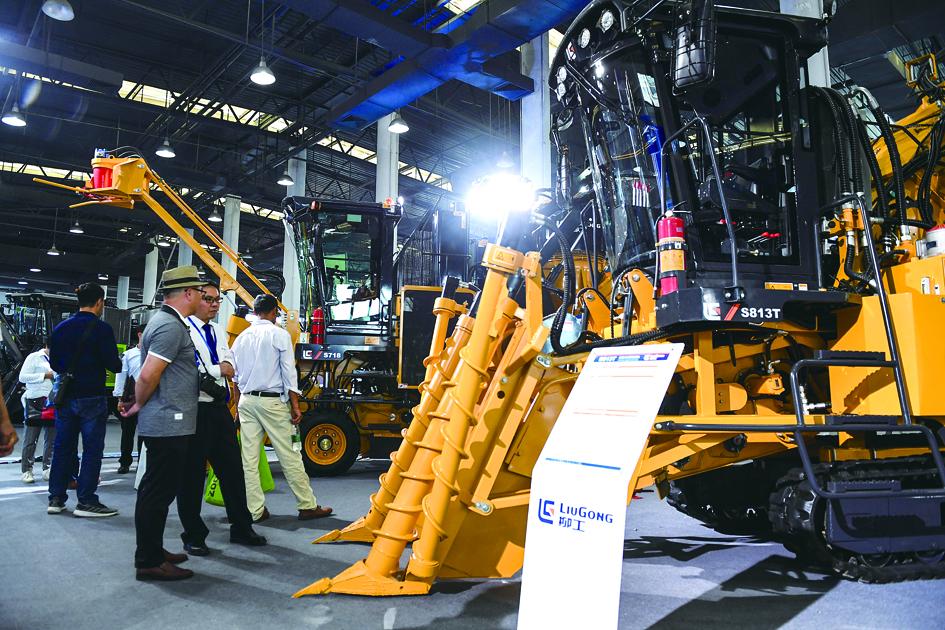 2019中国甘蔗机械化博览会在广西南宁华南城会展中心举行