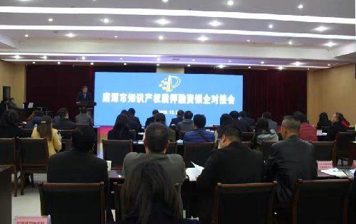 江西省鹰潭市召开知识产权质押融
