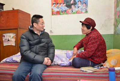 陕西省市场监管局领导赴蒲城县慰