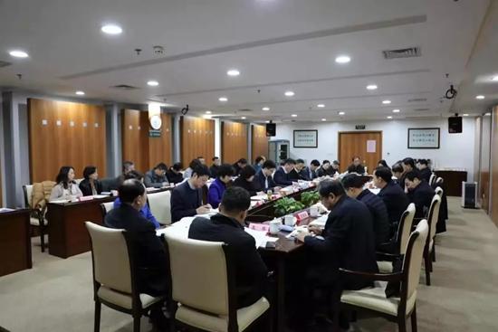 江苏省副省长马秋林专题部署新型