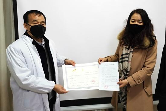 陕西省发出首张一次性使用医用口