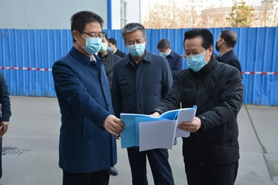 陕西省汉中市市委书记王建军检查市场监管领域疫情防控工作