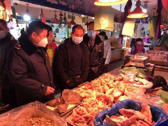 浙江温州以农贸市场为重点全面加