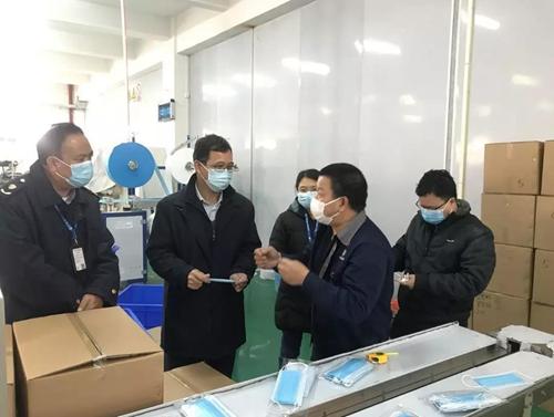 澳门太阳神集团网站省肇庆市为医用口罩、日常防护口罩生产开辟快速通道