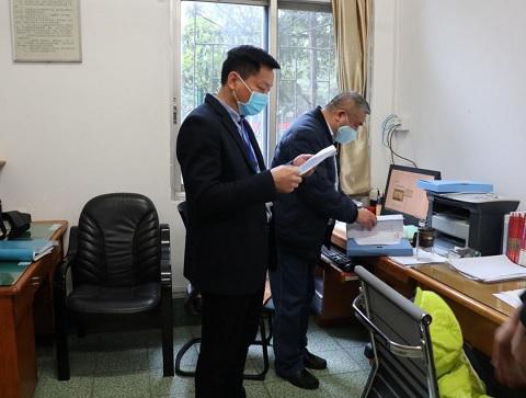 广西柳州柳南区开展学校特种设备