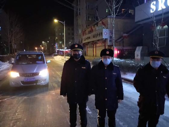 黑龙江省绥棱县市场监管局疫情防控不放松