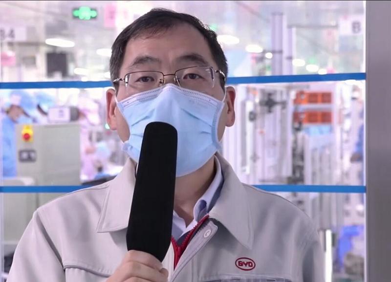 赵俭平:比亚迪公司品质处总经理